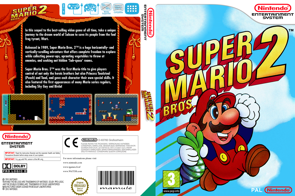 Super Mario Bros. 2 Wii coverfullHQ (FBYP)