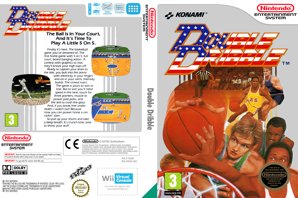Double Dribble Wii coverfullHQ (FDQP)