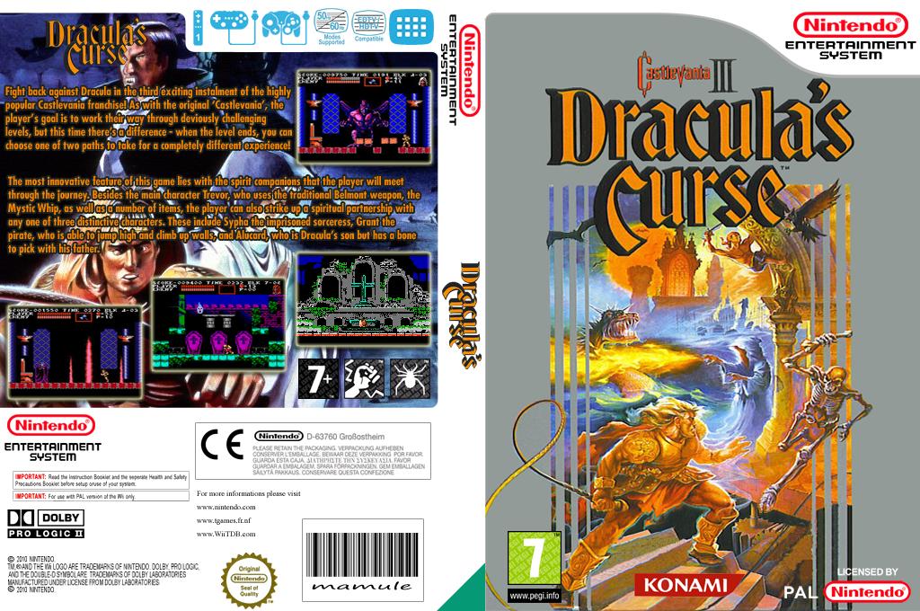 Castlevania III Dracula's Curse Wii coverfullHQ (FEQP)