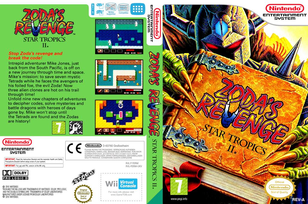 Startropics II: Zoda's Revenge Wii coverfullHQ (FERM)