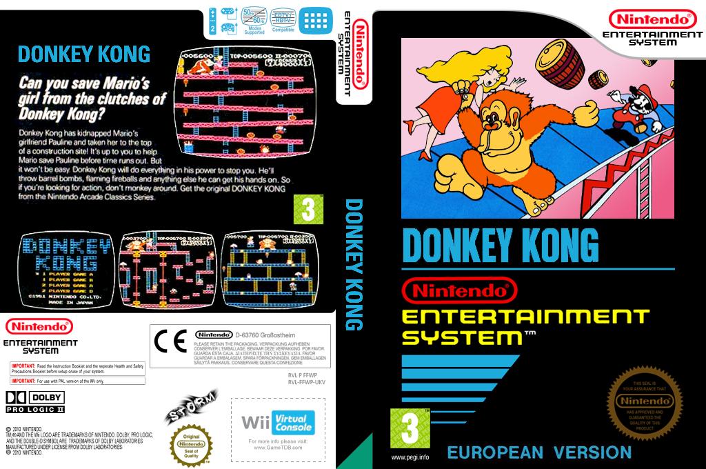 Donkey Kong: Original Edition Wii coverfullHQ (FFWP)