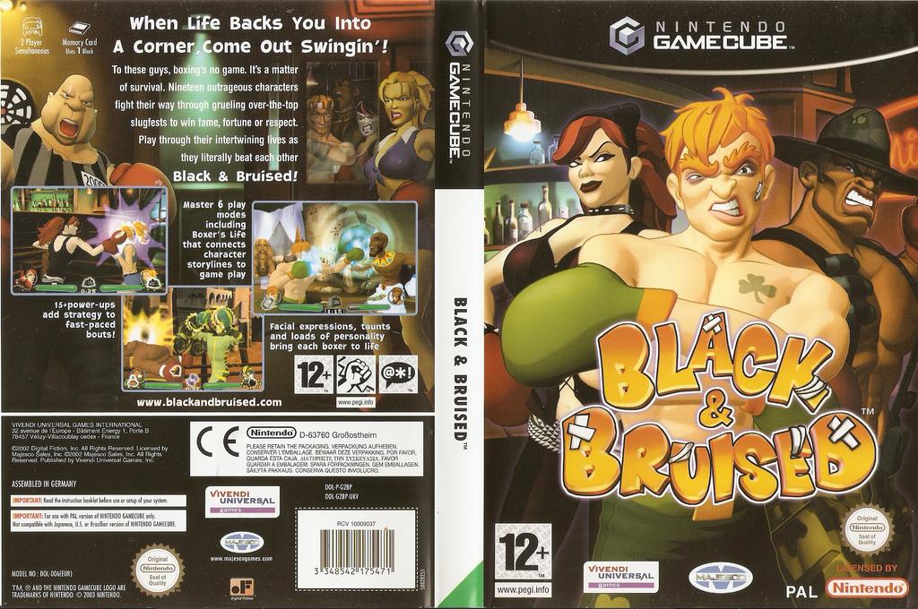 Black & Bruised Wii coverfullHQ (G2BP7D)
