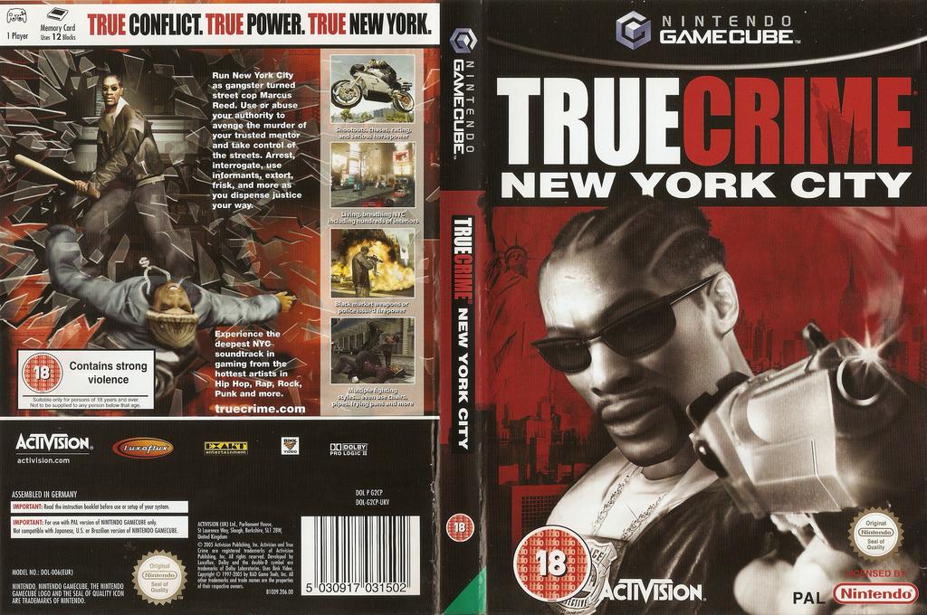 True Crime: New York City Wii coverfullHQ (G2CP52)
