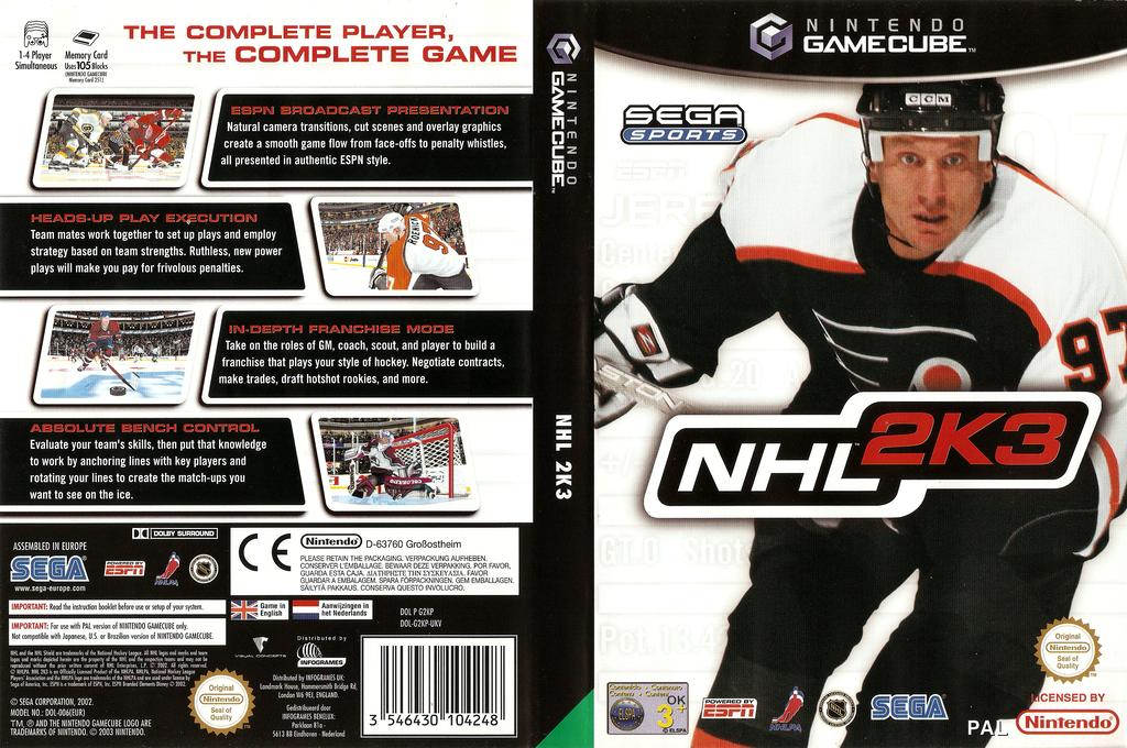 NHL 2K3 Wii coverfullHQ (G2KP8P)