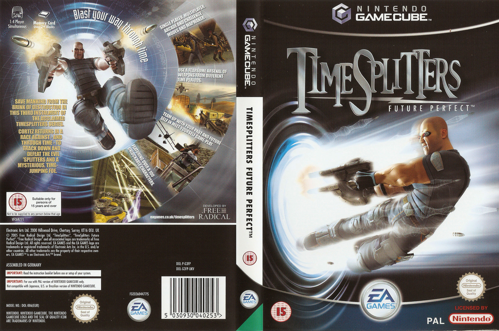 TimeSplitters: Future Perfect Wii coverfullHQ (G3FP69)