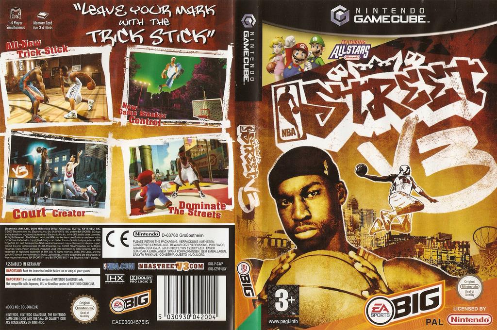 NBA Street Vol.3 Wii coverfullHQ (G3VP69)