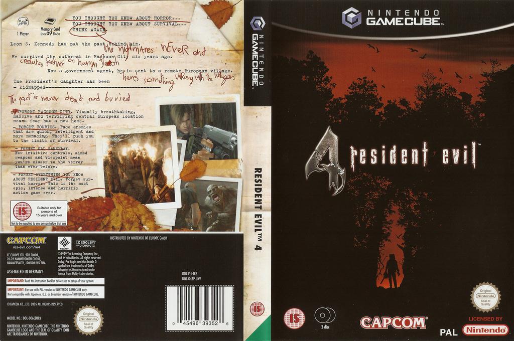 Resident Evil 4 Wii coverfullHQ (G4BP08)
