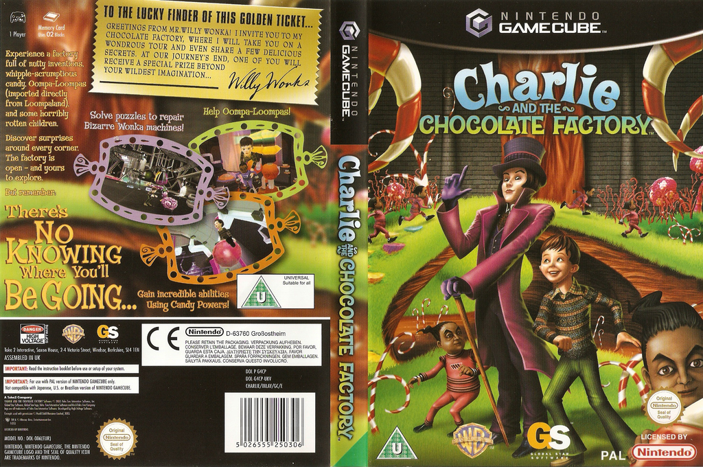 Charlie and the Chocolate Factory Array coverfullHQ (G4CP54)