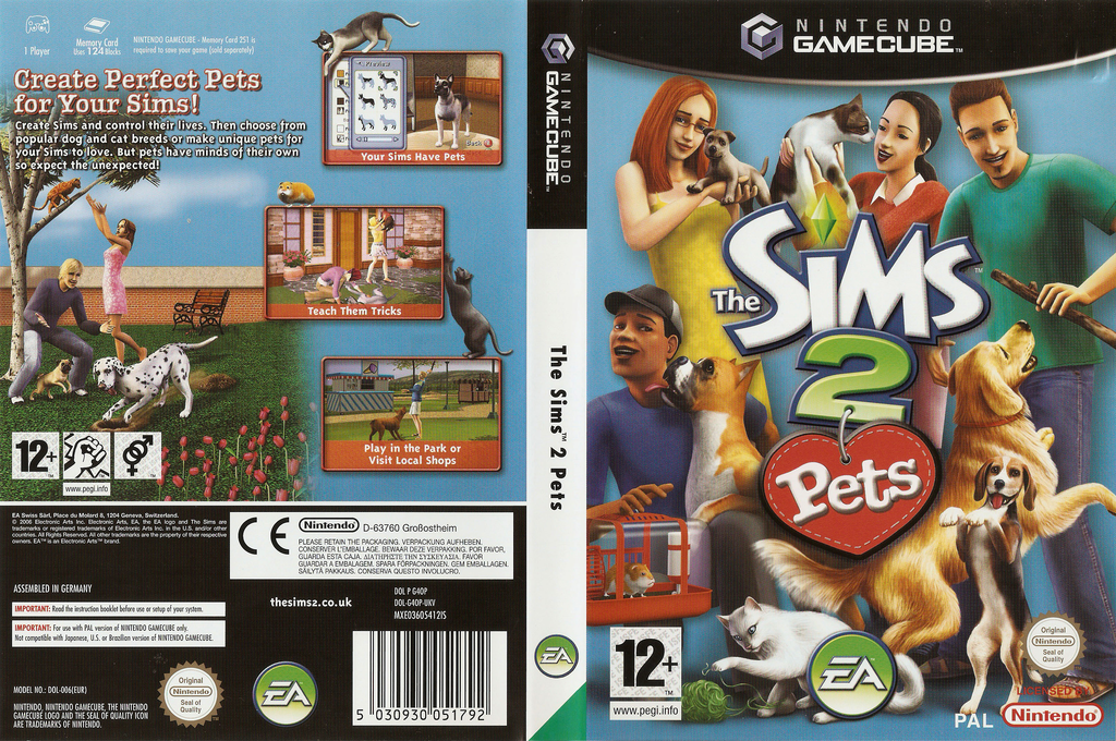 The Sims 2 : Pets Wii coverfullHQ (G4OP69)