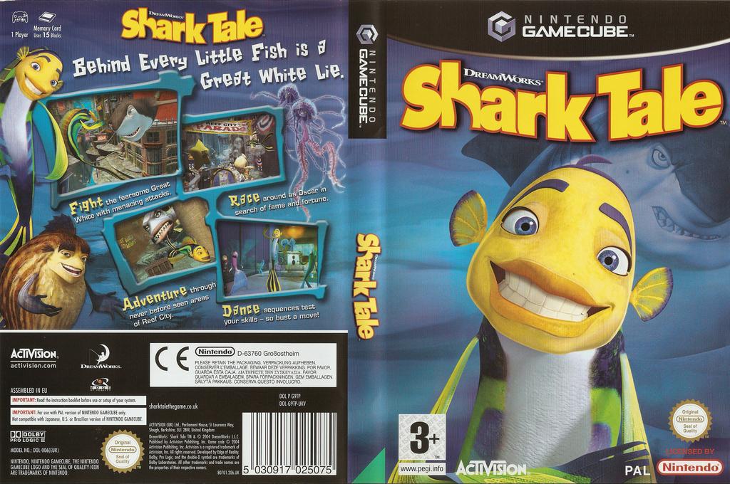 Shark Tale Wii coverfullHQ (G9TP52)