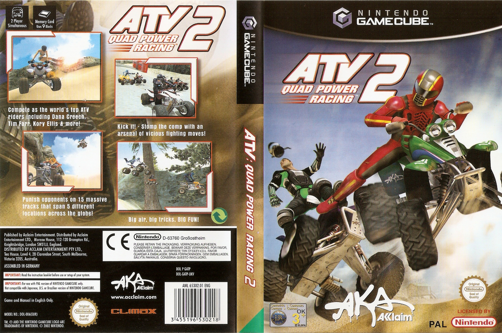 ATV Quad Power Racing 2 Wii coverfullHQ (GATP51)