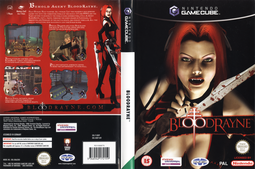 BloodRayne Wii coverfullHQ (GBDP7D)