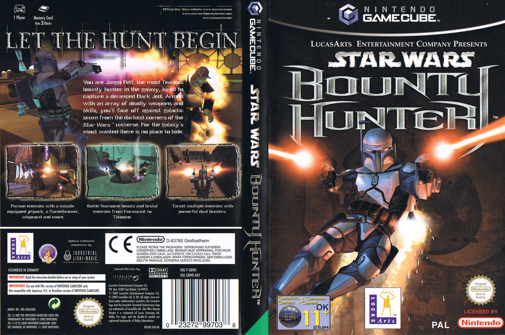 Star Wars Bounty Hunter Wii coverfullHQ (GBWP64)