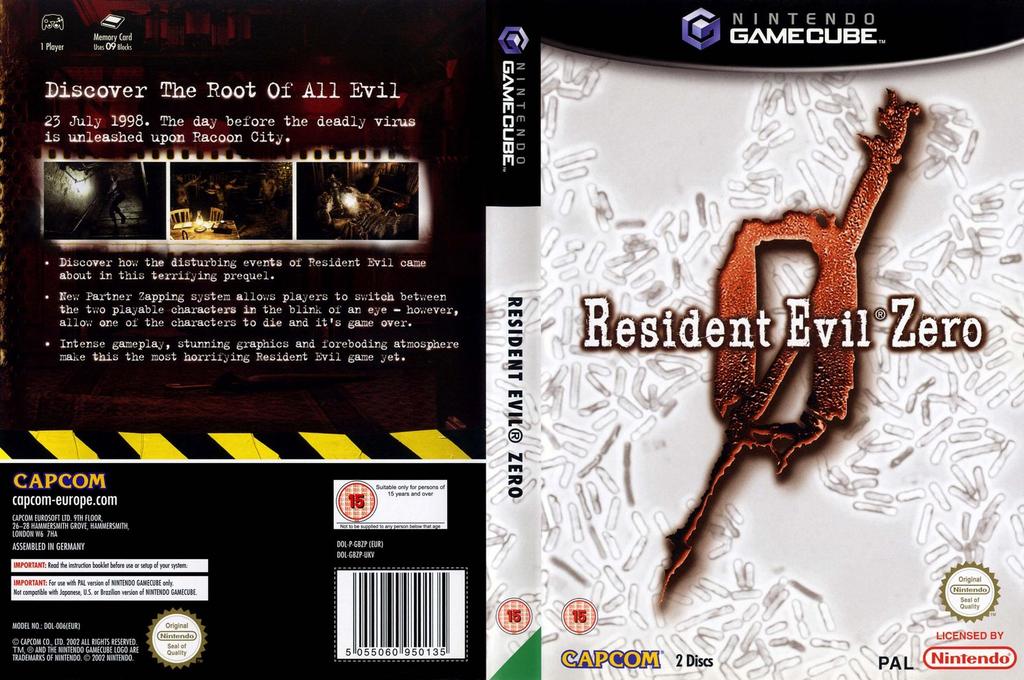 Resident Evil Zero Wii coverfullHQ (GBZP08)