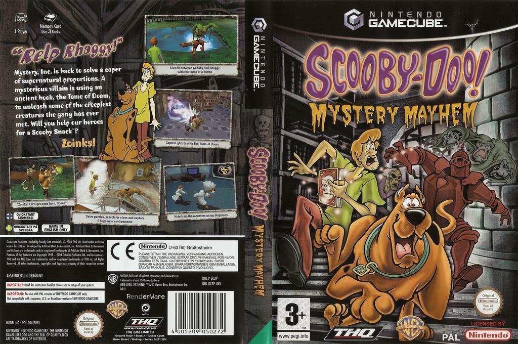 Scooby-Doo!: Mystery Mayhem Array coverfullHQ (GC3P78)