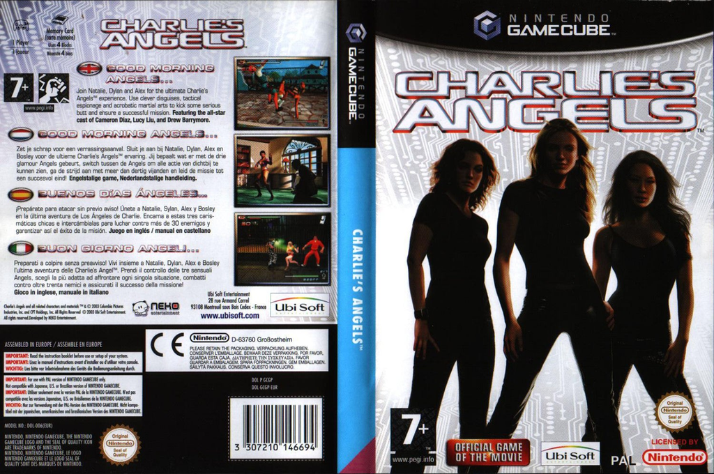 Charlie's Angels Wii coverfullHQ (GCGP41)