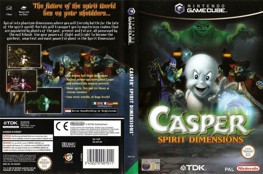 Casper: Spirit Dimensions Wii coverfullHQ (GCPP6S)