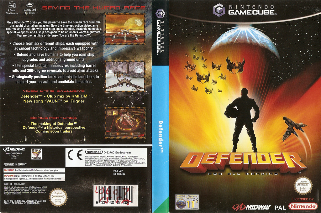 Defender: For All Mankind Wii coverfullHQ (GDFP5D)