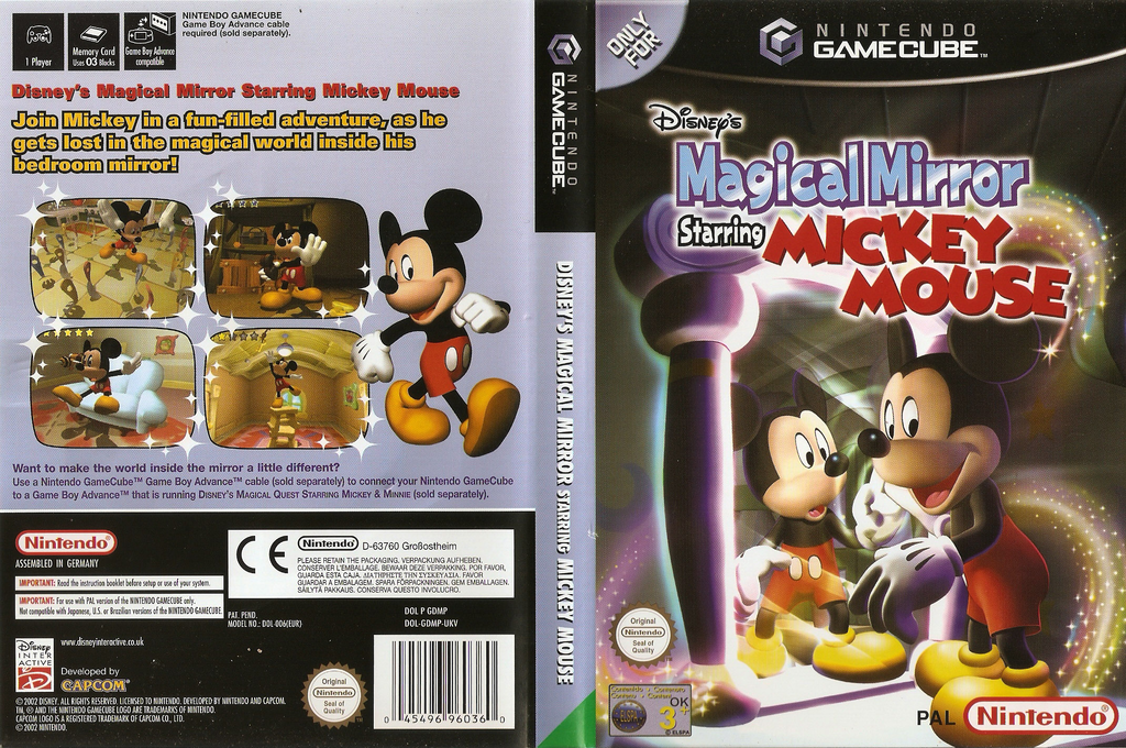 Disney's Magical Mirror Starring Mickey Mouse Wii coverfullHQ (GDMP01)