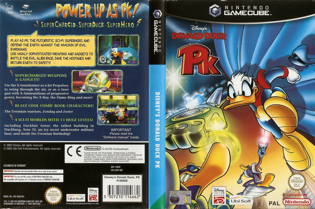 Disney's Donald Duck PK Wii coverfullHQ (GDOP41)