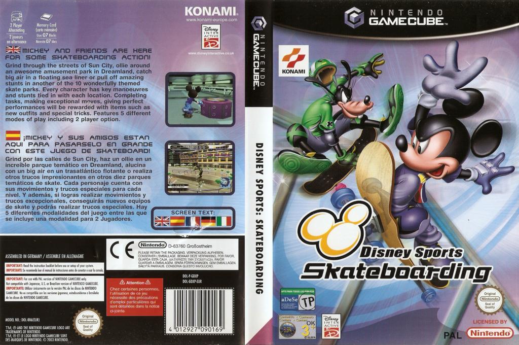 Disney Sports Skateboarding Wii coverfullHQ (GDXPA4)