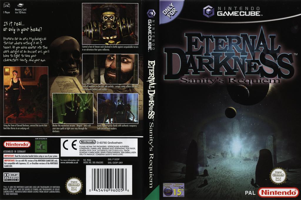 Eternal Darkness: Sanity's Requiem Array coverfullHQ (GEDP01)