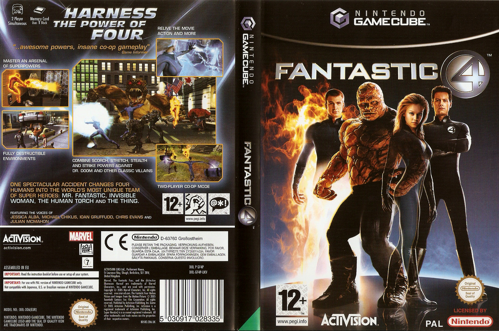 Fantastic Four Wii coverfullHQ (GF4F52)