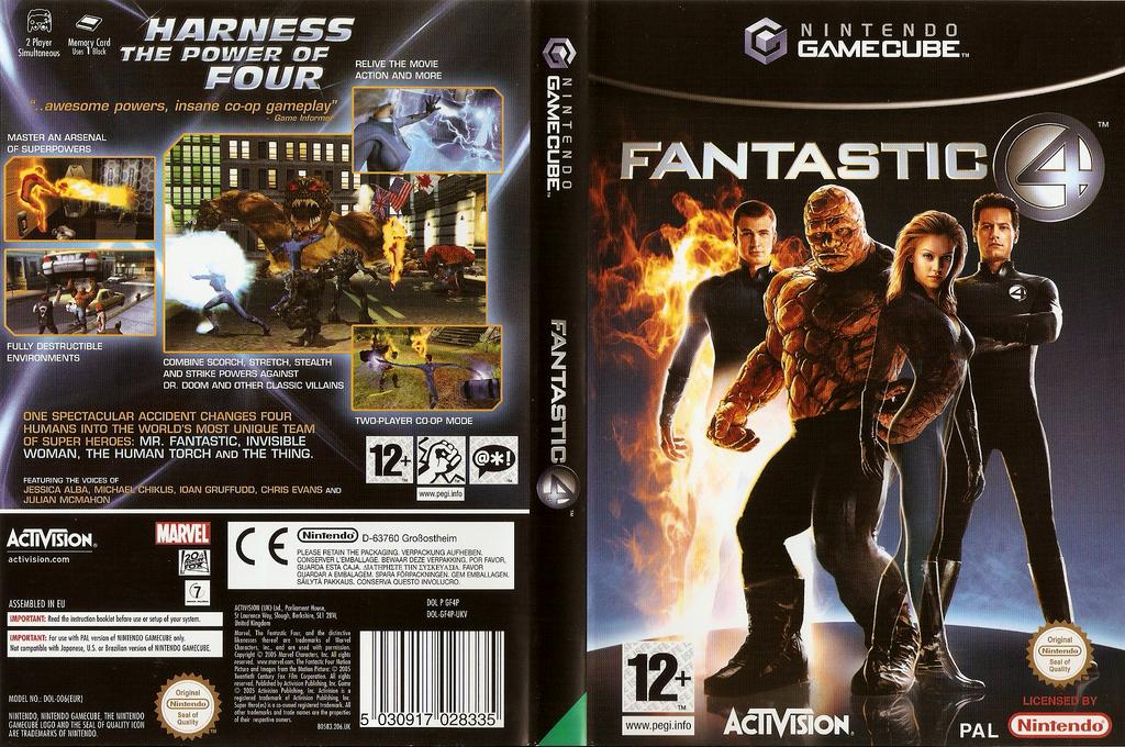 Fantastic 4 Wii coverfullHQ (GF4P52)