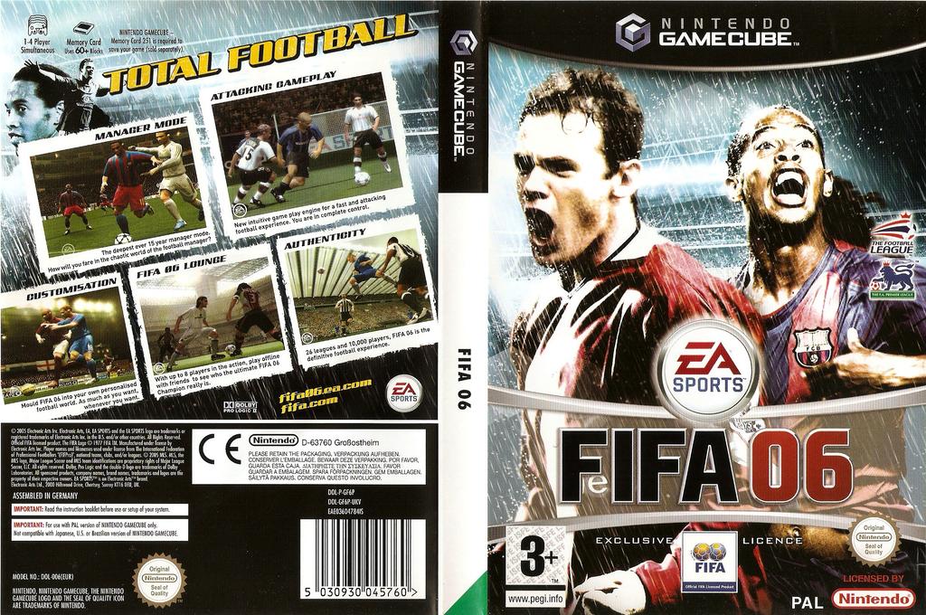 FIFA 06 Wii coverfullHQ (GF6P69)