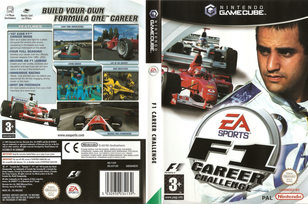 F1 Career Challenge Array coverfullHQ (GFCP69)