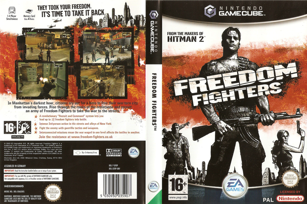 Freedom Fighters Array coverfullHQ (GFDP69)