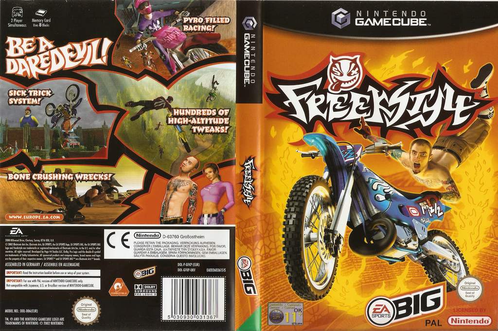 Freekstyle Wii coverfullHQ (GFKP69)