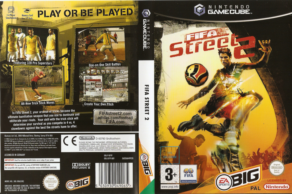 FIFA Street 2 Wii coverfullHQ (GFYP69)