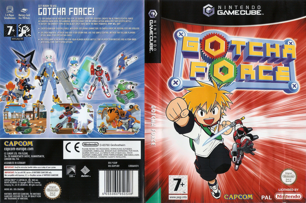 Gotcha Force Wii coverfullHQ (GG4P08)