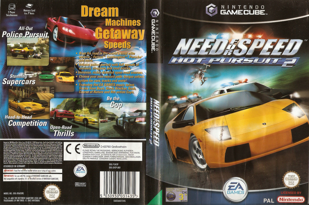 Need for Speed: Hot Pursuit 2 Wii coverfullHQ (GH2P69)
