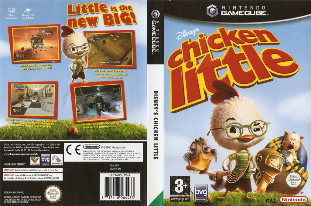 Chicken Little Wii coverfullHQ (GHCP4Q)