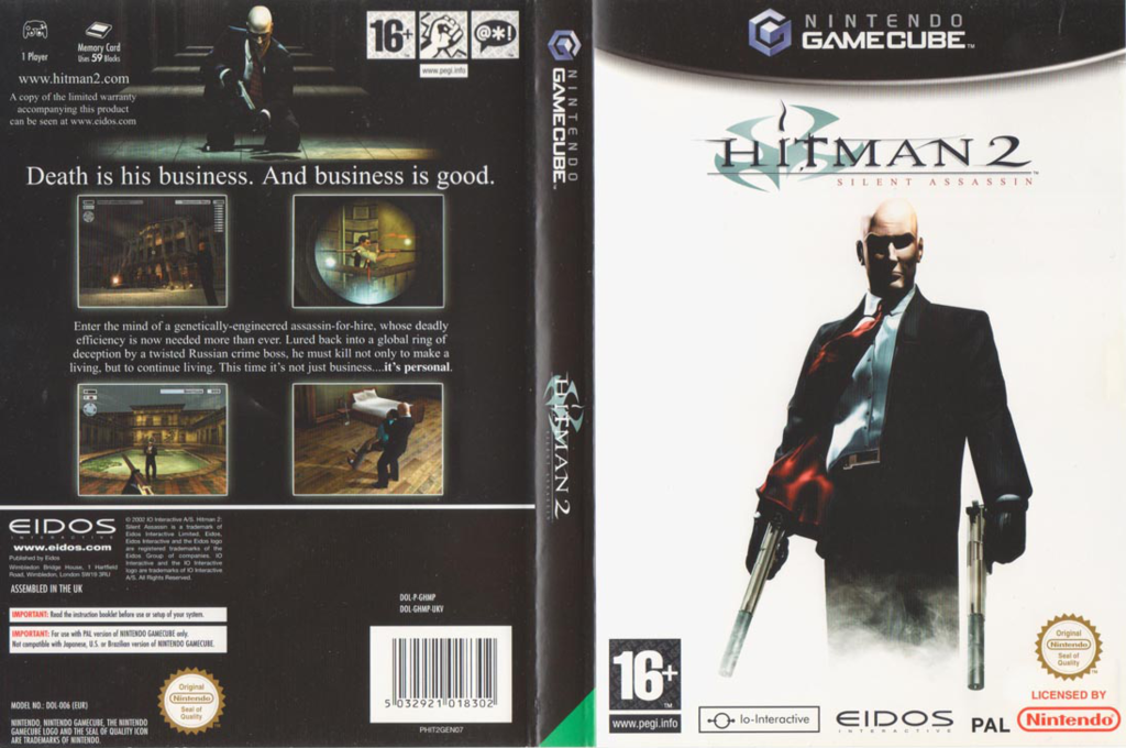 Hitman 2: Silent Assassin Wii coverfullHQ (GHMP4F)