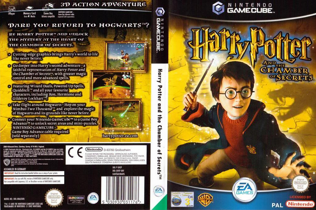 Harry Potter and the Chamber of Secrets Wii coverfullHQ (GHSY69)