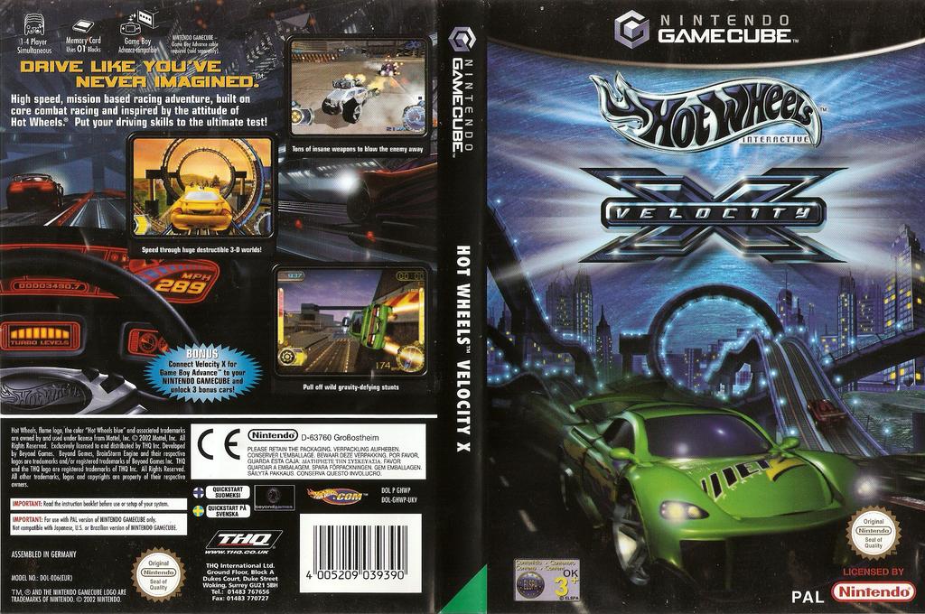 Hot Wheels: Velocity X Wii coverfullHQ (GHWP78)