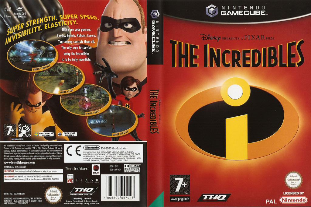 The Incredibles Array coverfullHQ (GICP78)