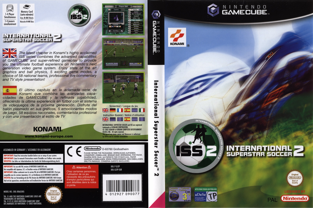 International Superstar Soccer 2 Wii coverfullHQ (GJ2PA4)