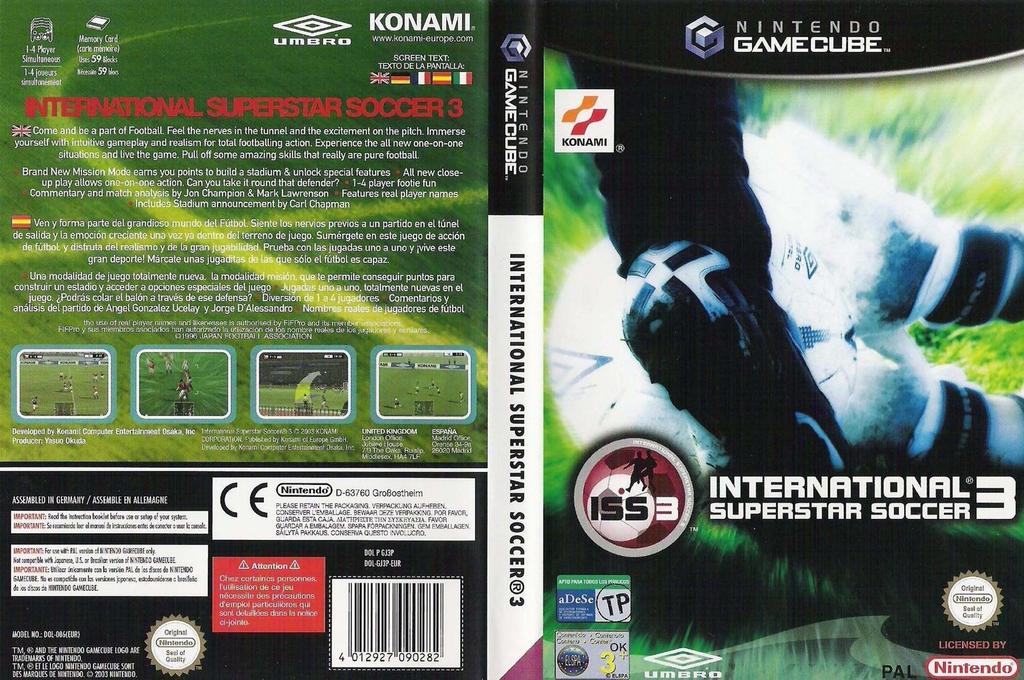 International Superstar Soccer 3 Wii coverfullHQ (GJ3PA4)