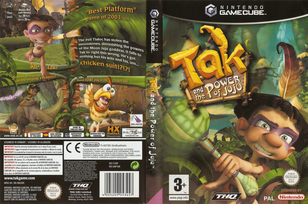 Tak and the Power of JuJu Wii coverfullHQ (GJUP78)