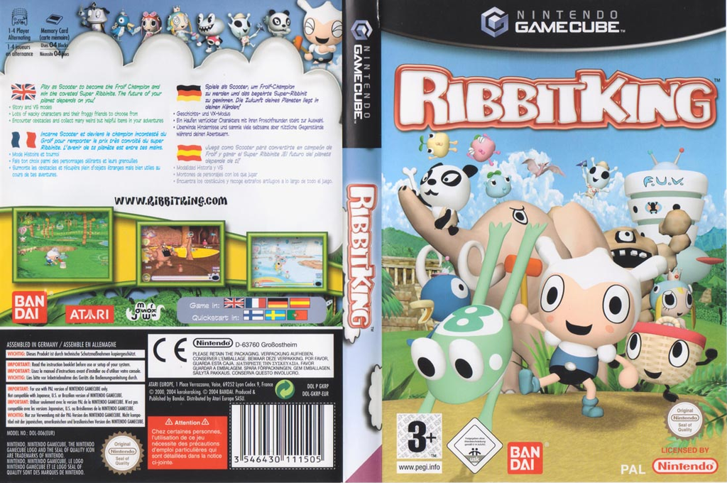 Ribbit King Wii coverfullHQ (GKRPB2)