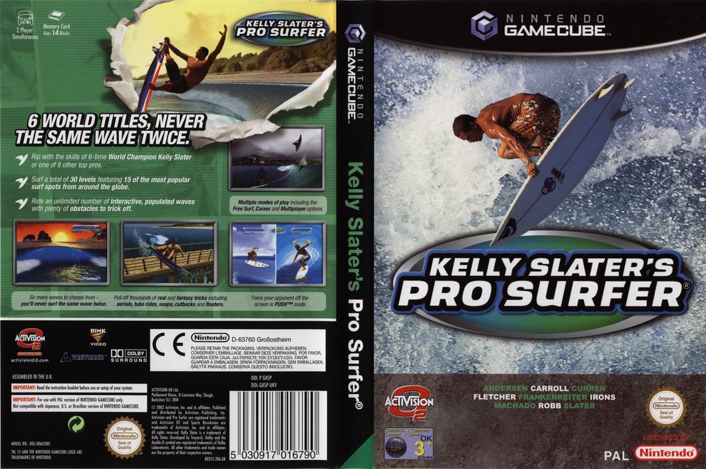 Kelly Slater's Pro Surfer Wii coverfullHQ (GKSP52)