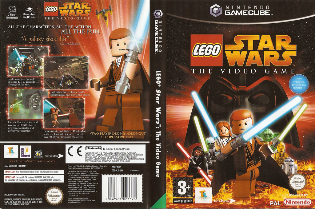 LEGO Star Wars: The Video Game Wii coverfullHQ (GL5P4F)