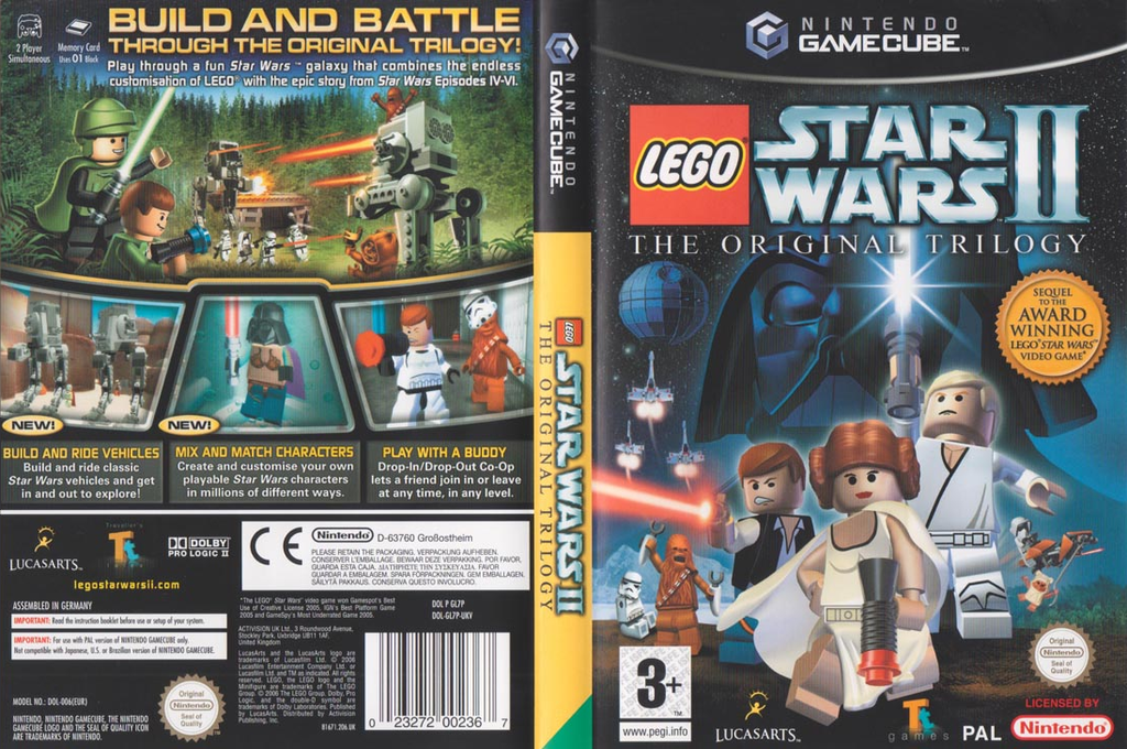 LEGO Star Wars II: The Original Trilogy Wii coverfullHQ (GL7P64)