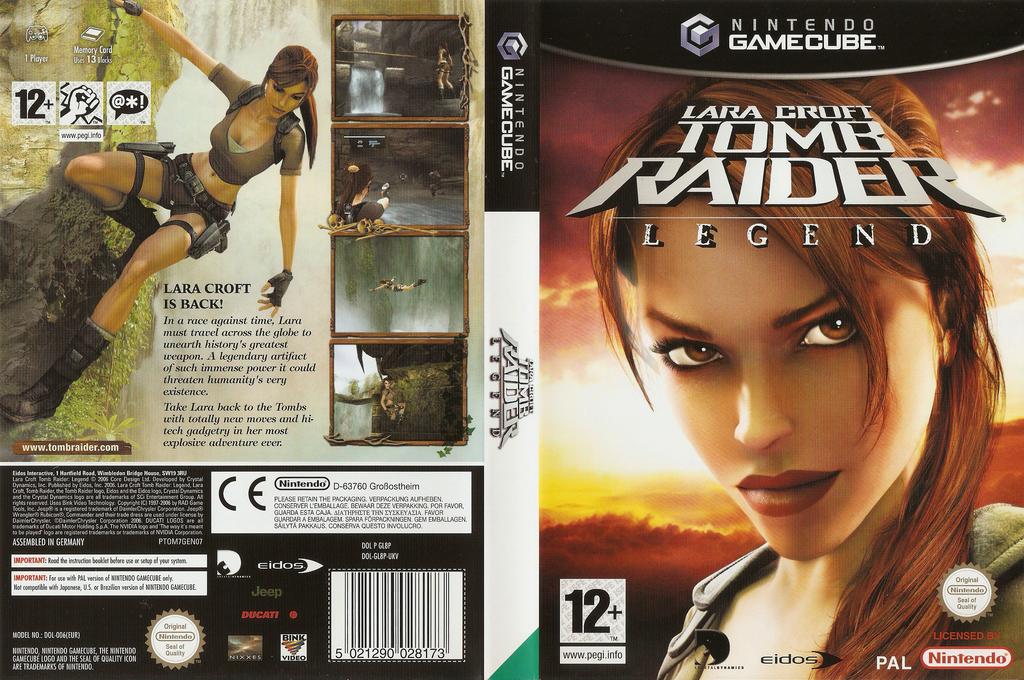 Lara Croft Tomb Raider: Legend Wii coverfullHQ (GL8P4F)