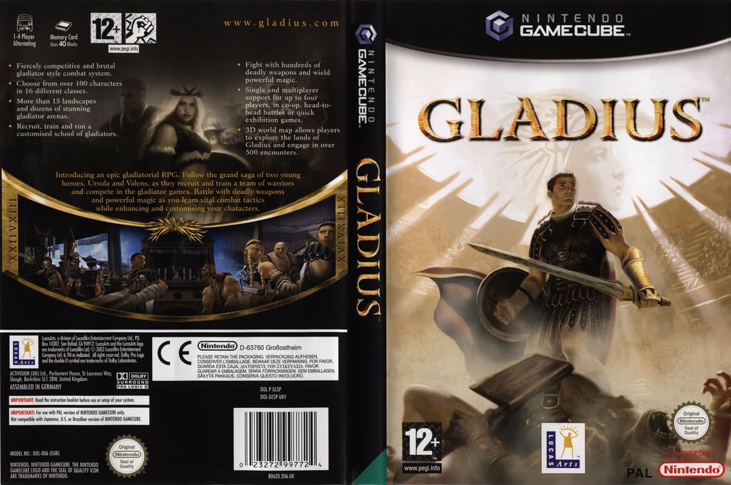 Gladius Wii coverfullHQ (GLSP64)