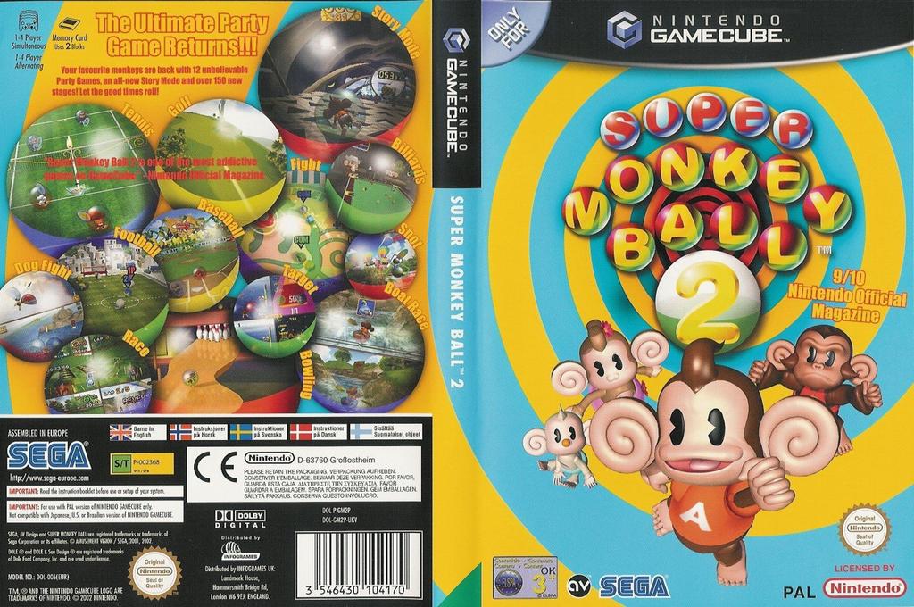 Super Monkey Ball 2 Wii coverfullHQ (GM2P8P)